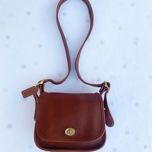 Vintage Coach Legacy Trail Bag 9965